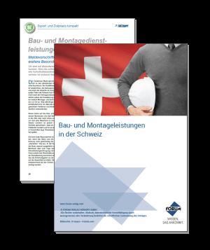 Bau- und Montagedienstleistungen in der Schweiz