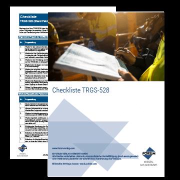 Checkliste TRGS 528
