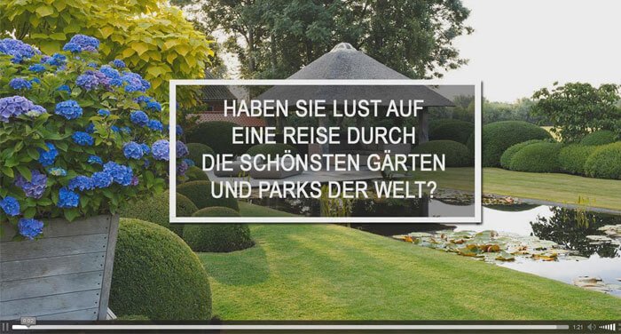 Video Gartendesign Inspiration