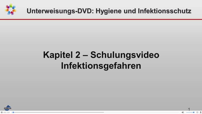 Trailer Unterweisungs-DVD Hygiene und Infektionsschutz