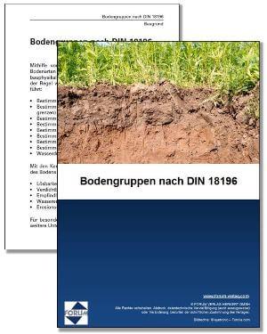 Gratis Fachartikel über Bodengruppen nach DIN 18196