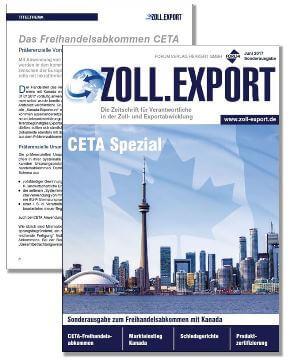 Gratis Sonderausgabe: CETA Spezial