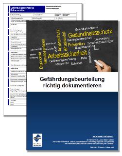 Gratis-Checkliste zur Dokumentation der Gefährdungsbeurteilung