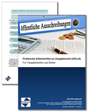 Gratis Fachartikel + Checkliste Vergaberecht (VOL/A)