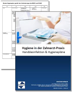 Kostenlose Vorlagen für Zahnärzte: Hygieneplan & Hände-Desinfektion
